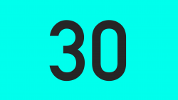 30 Second Zoom Out Countdown - Vector Animate