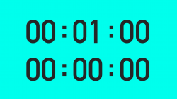 1 Minute Timer - Vector Animate