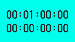 1 Minute with Split Second Timer - Vector Animate